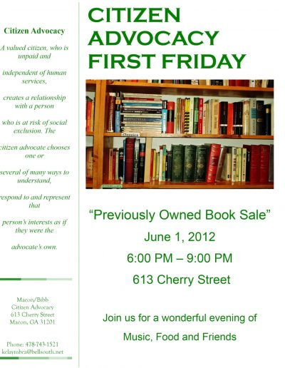 First-Friday-6-1-2012-Booksale